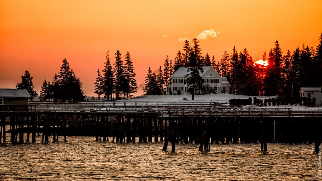 Manset Maine Sunrise