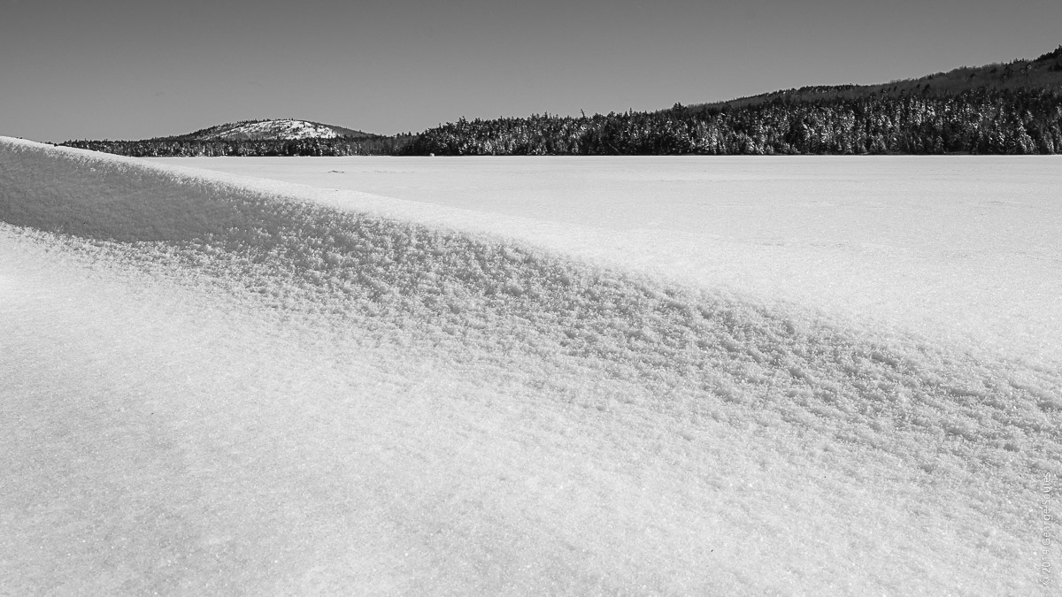 Eagle Lake Frozen