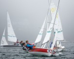 Optimist and 420 Class Sailboat Races