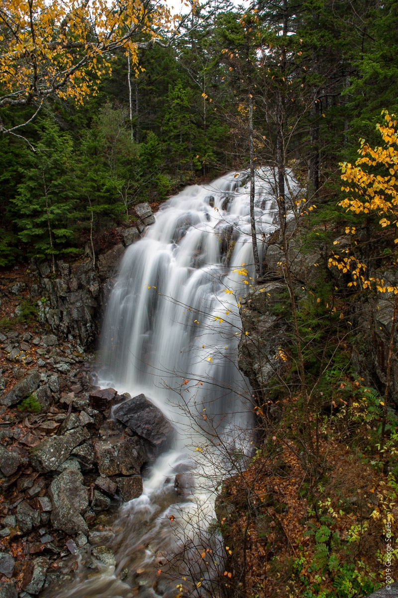 Waterfall on Hadlock Brook